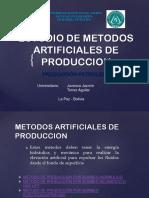 Estudio de Metodos Artificiales de Produccion