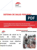 Clase_Sistema de Salud Peruano_2017