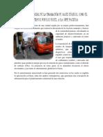 Afectación Potencial de La Emanación de Gases Tóxicos