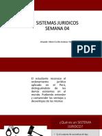 4 SISTEMAS JURIDICOS
