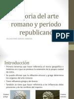 Historia Del Arte Romano y Periodo Republicano