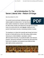 A Gentleman's Introduction to the Seven Liberal Arts