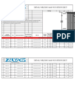 007 Detail Welding Map for Site Project Right Wall Panel (PLTU Malinau 2x3 MW)