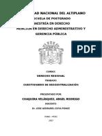 Trabajo - Derecho Regional
