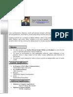 Syed Azhar Bokhari Cv UPDATED