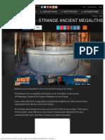 The Tsar Bath - Strange Ancient Megaliths