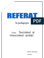 Referat.clopotel.ro-succesul Si Insuccesul Scolar