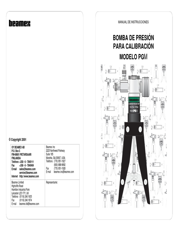 Beamex PGM Manual ESP