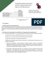 Asignacion 1 - Investigacion Manufactura