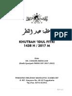 Idul Fitri Kyai Chasan