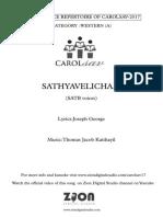 Sathyavelicham(Mal Transl)