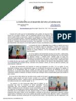 La Halterofilia en El Desarrollo Del Nino y Adolescente