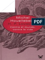 H. P. Lovecraft - Michel Houellebecq