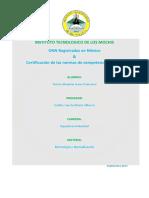 ONN registrados en México & Certificación de las normas de competencia laboral.
