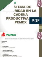 Sistema de Seguridad en La Cadena de Pemex