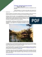 Escapadas de fin de semana Alhama de Aragón balneario Termas Pallarés