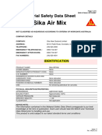 Msds Sika Air Mix