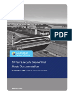 A 50 Year Lifecycle Capital Cost Model Documentation