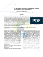Heterosis and inbreeding depression for seed yield, its components and qualitative characters in linseed (Linum usitatissimum L.)
