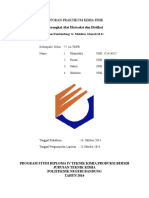 Laporan Praktikum Kimia Fisik Distilasi