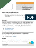 Lesson Looking Through Lenses
