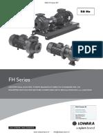 Xylem Lowara FHE FHS FHF Brochure