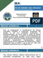 Cesión y Venta de Bienes Del Estado Mayo 2017