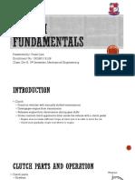 Clutch Fundamentals Pranit