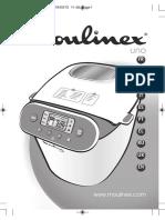Manual Masina de Paine Moulinex OW310E-MO-BREAD MAKER UNO-En