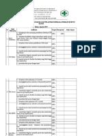 9.1.1.3. Hasil Pengumpulan Data, Bukti Analisis, Dan Pelaporan Berkala Indikator Mutu Klinis (Agustus)