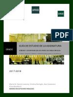 Guía General Género y Literatura 2017-2018