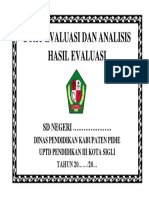Buku Evaluasi Dan Analisis Hasil Evaluasi