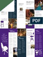 5451 Art Department Brochure