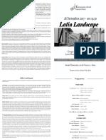 Programma Landscape
