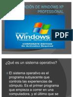3.1 INSTALACIÓN DE WINDOWS XP PROFESSIONAL
