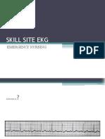 Skill Site Ekg