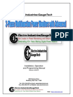 3-Phase Multifunction Power Monitors with Advanced Capabilities - PDF
