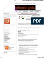Gestionar Usuarios en Ubuntu
