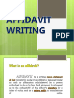 AFFIDAVIT WRITING lecture.pptx
