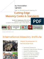 Cutting Edge Masonry Codes and Standards
