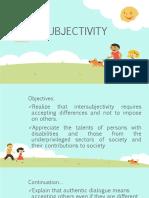 Inter Subjectivity