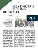 Mario Tronti Grandeza e Miseria Do Comunismo de Estado