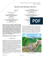 Energy Production From Biomass Review