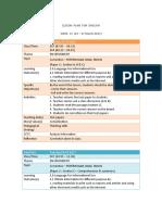 lesson plan form 5