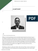 Rethinking Urban and Rural - Newspaper - DAWN