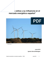 La Energía Eólica en El Mix Energético