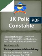 JK Police Constable
