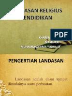 6. Landasan Religius Pendidikan