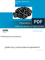 Presentacion Clase 1 TDAH