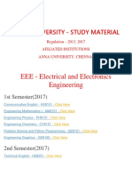 Eee Department - ANNA UNIVERSITY Important Question and Answers- Regulation 2013,2017 - STUDY MATERIAL, Notes